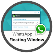 WhatsApp in Floating Window