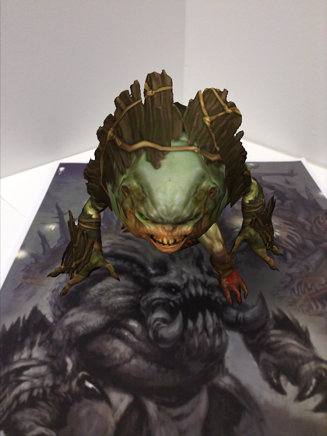 Blizzard AR Viewer - screenshot