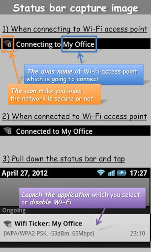 WiFi Ticker Ad-free