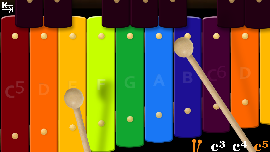 Awesome Xylophone - screenshot