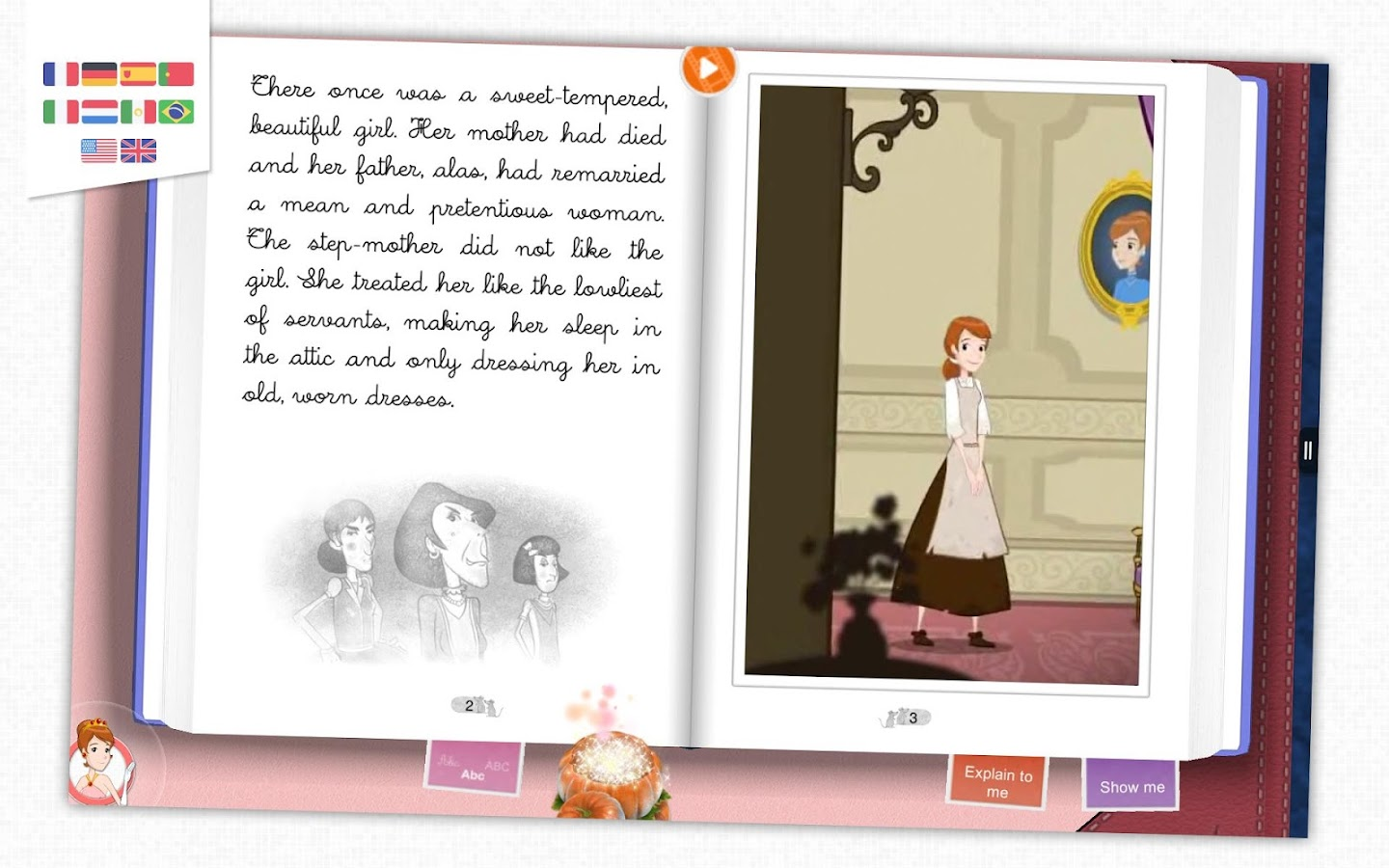 Cinderella - Kids Storybook- screenshot