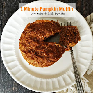 1 Minute Pumpkin Muffin (Low Carb)