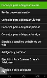 Ejercicios para Adelgazar - screenshot thumbnail