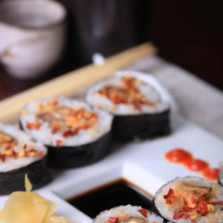 Spicy Shiitake Mushroom Roll