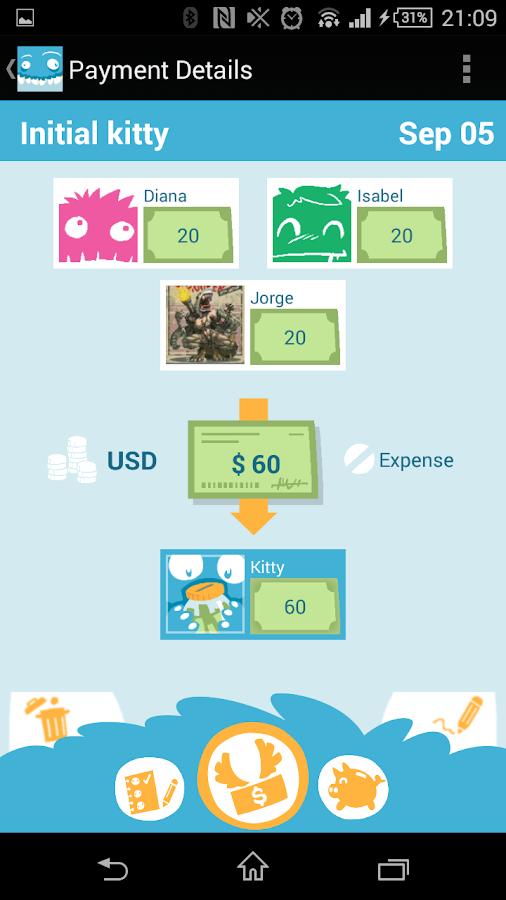 Debtster - screenshot