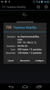 Fearless Mobility VPN - screenshot thumbnail