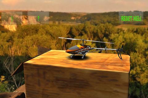 RCのヘリコプターのシミュレーションプロ