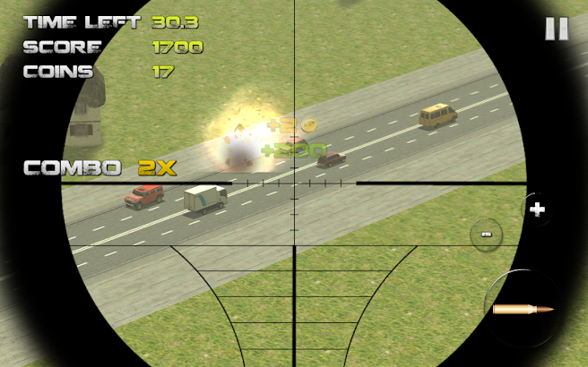 Sniper: Traffic Hunter screenshot