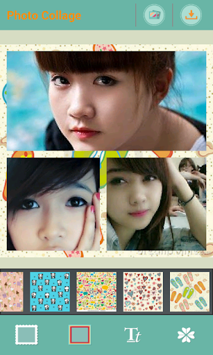FRAME LOVE Photo Collage