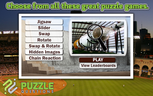 Free Houston Puzzle Games