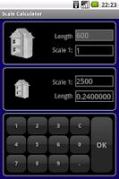 Screenshot of Scale Calculator