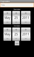 Screenshot of ProgressBars
