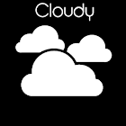 Cloudy Transparent (Donate) icon
