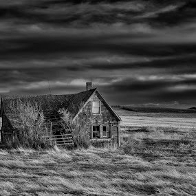 Long Gone by William Tipper - Black & White Landscapes ( black and white, b&w, landscape )
