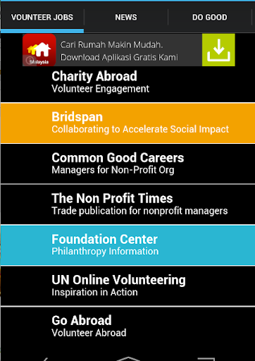 Volunteer Charity Do Good Site
