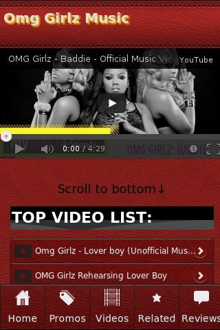 Omg Girlz Music - screenshot