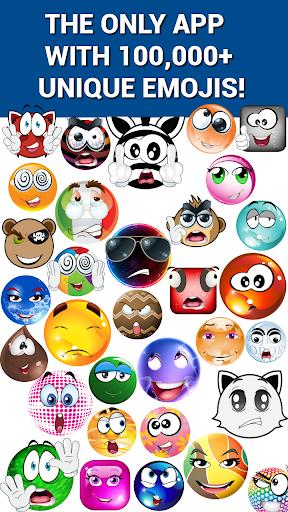 無料社交Appの絵文字についてスマイリークリエーター HotApp4Game