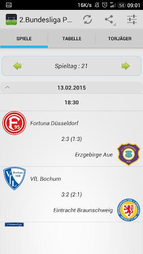 2 Bundesliga Push