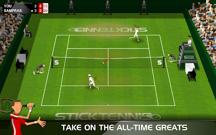 Stick Tennis Screenshot 2