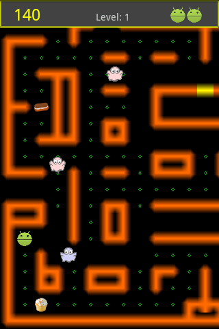 Ghost Munch Android - screenshot