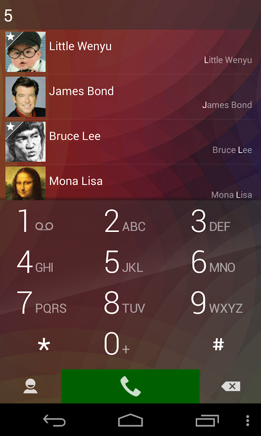ExDialer - Dialer & Contacts - screenshot