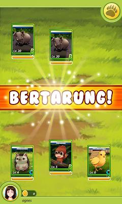 Jungle Rescue Card Battle - screenshot