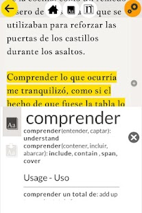 Read in Spanish: Una palabra..- screenshot thumbnail