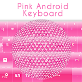 Pink Android Keyboard