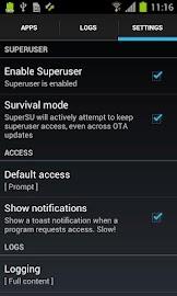SuperSU Pro Screenshot 6