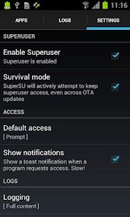 SuperSU Pro V2.80 Mod APK 6