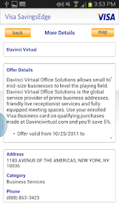 Visa SavingsEdge- screenshot thumbnail
