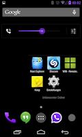 Screenshot of BetterKat CM11 Theme Purple