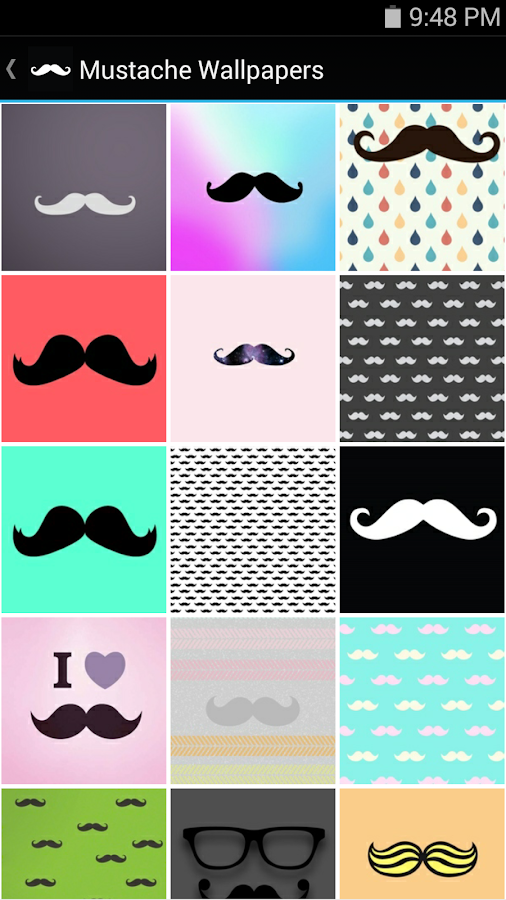 Colorful Mustache Backgrounds 82406