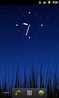 Screenshot of ICS Analog Clock Widget