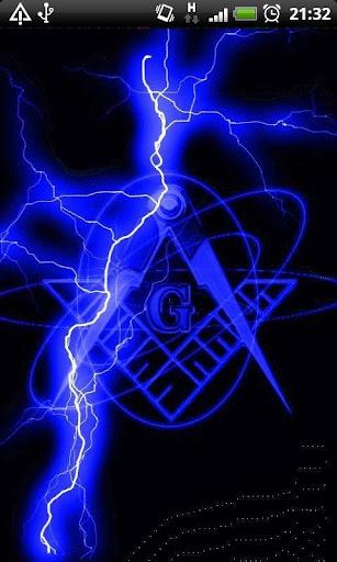 Blue Lightning Freemason LWP
