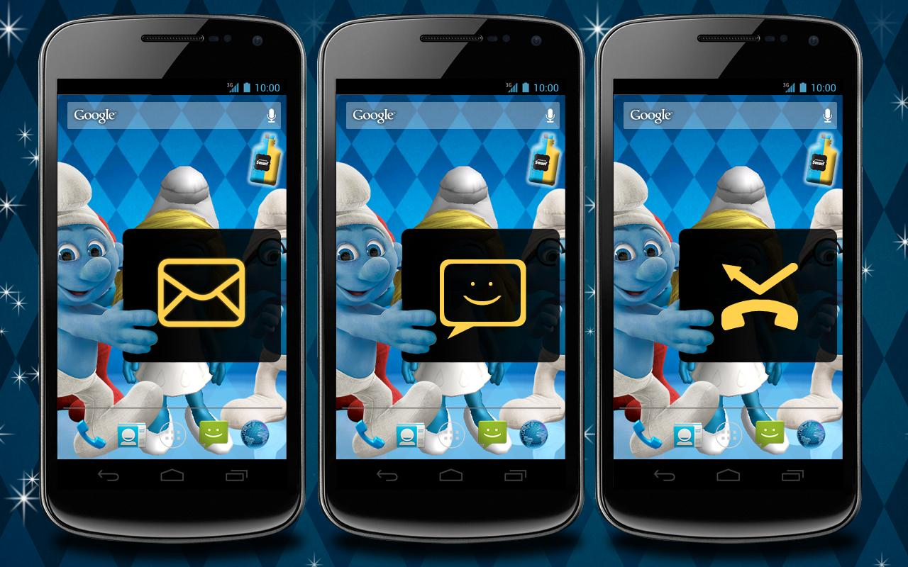 The Smurfs 2 3D Live Wallpaper- screenshot