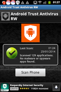 Android Trust Antivirus RW - screenshot thumbnail