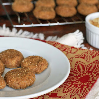 Gluten-Free Triple Ginger Cookies