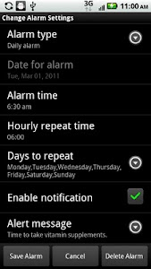 Alarm Clock/Personal Assistant screenshot 1