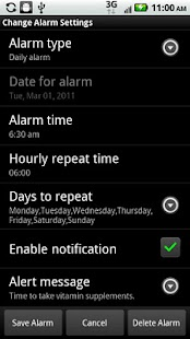 Alarm Clock/Personal Assistant- screenshot thumbnail