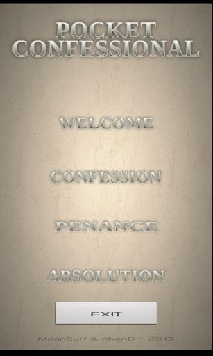 Pocket Confessional