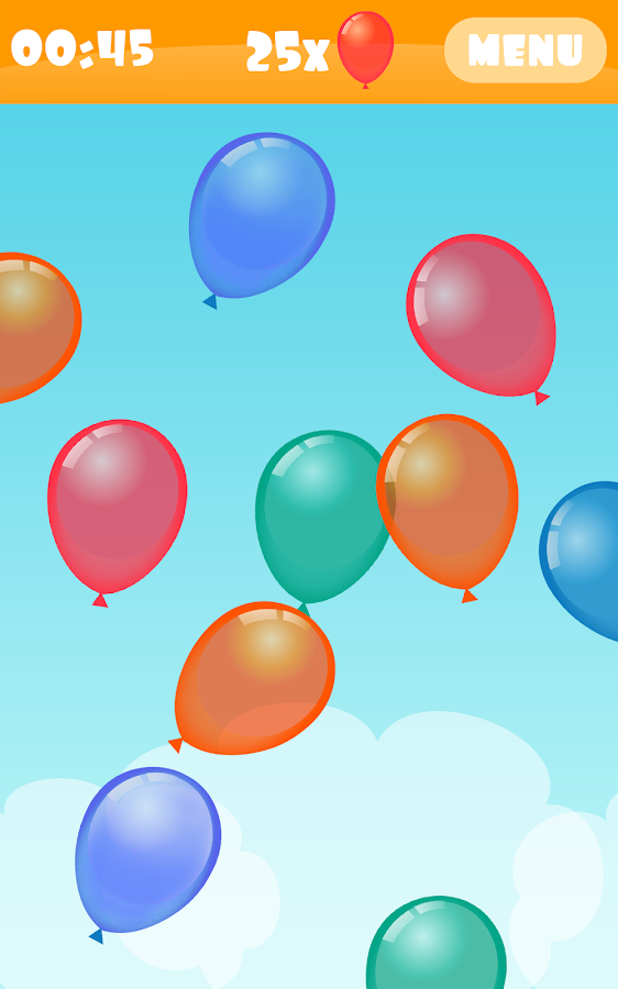 Balloon Boom for kids- screenshot