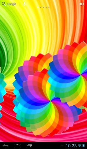 彩虹的颜色