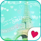 Cute wallpaper★Happy Paris!
