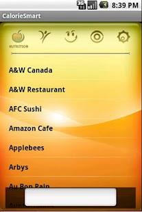 CalorieSmart Calorie Tracker- screenshot thumbnail