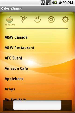 CalorieSmart Calorie Tracker- screenshot