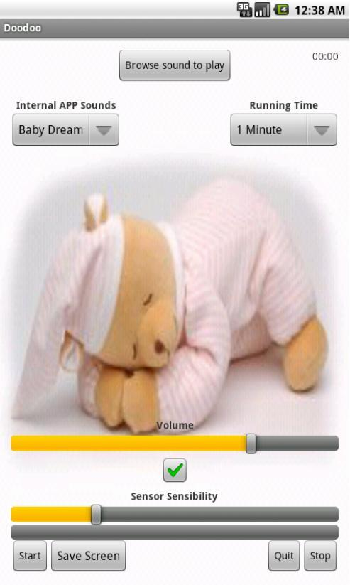 Baby music box Lullabies . - screenshot