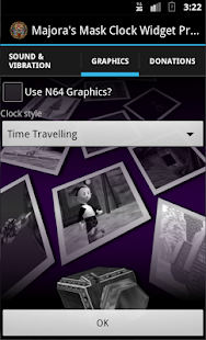 Majora's Mask Clock Widget - screenshot thumbnail