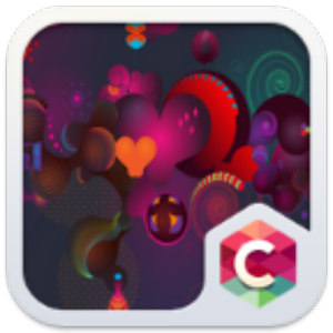 Red Heart C Launcher Theme