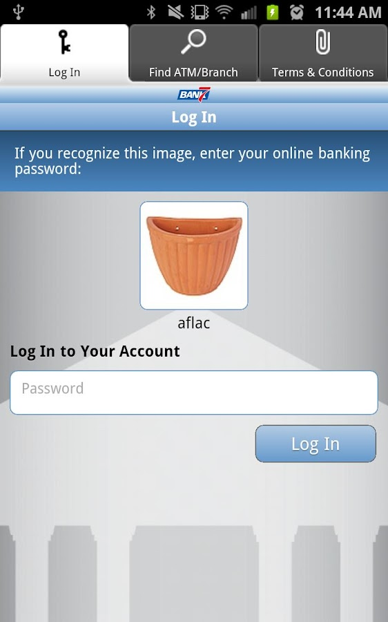 Bank7 Mobiliti - screenshot